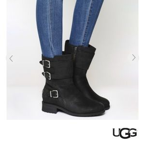c7fc8ee41e7 ugg classic short boots black powder